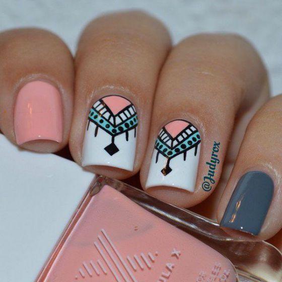 diseño de uñas cortas para 2016