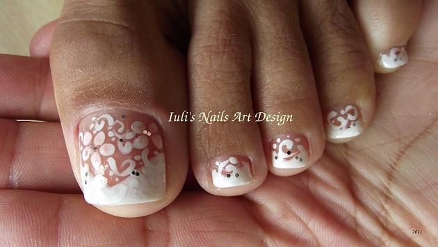 art desing toe nails