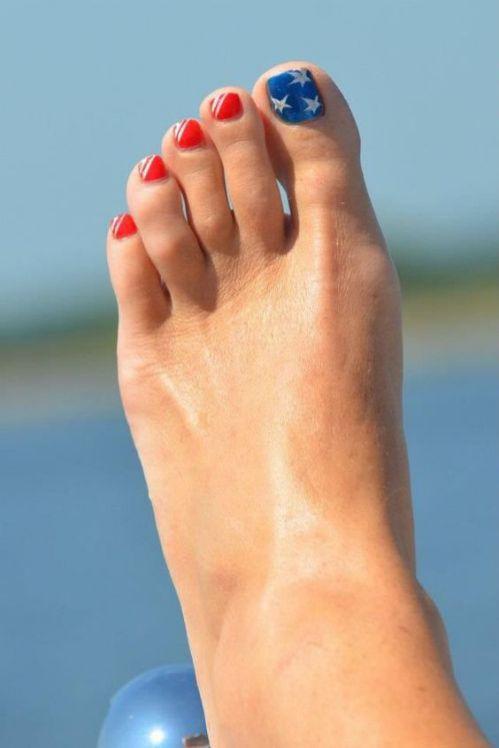 diseño uñas pies