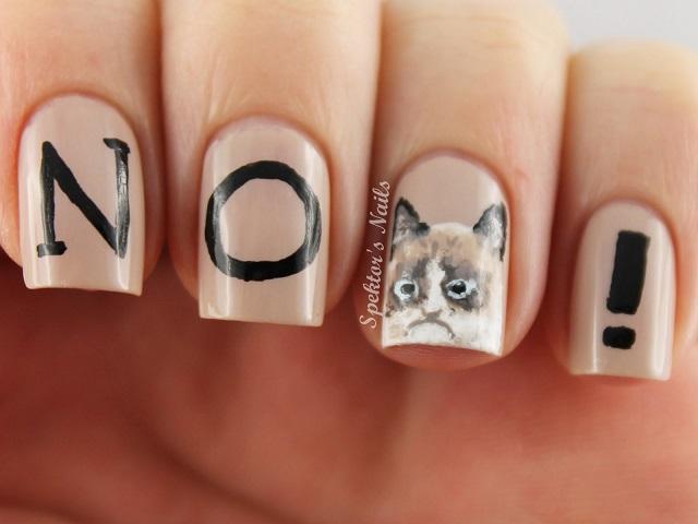 gato amargado uñas