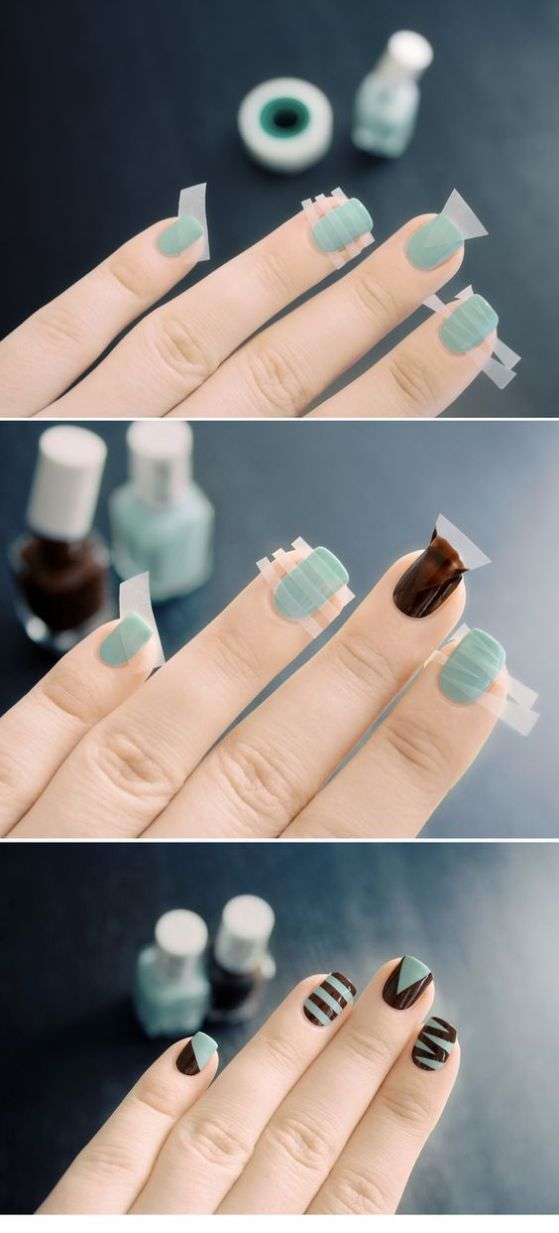 tutoriales de uñas faciles