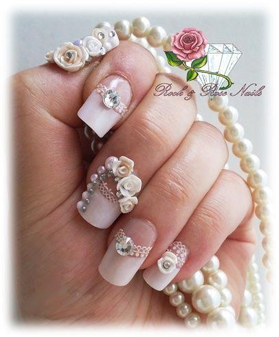 uñas de boda