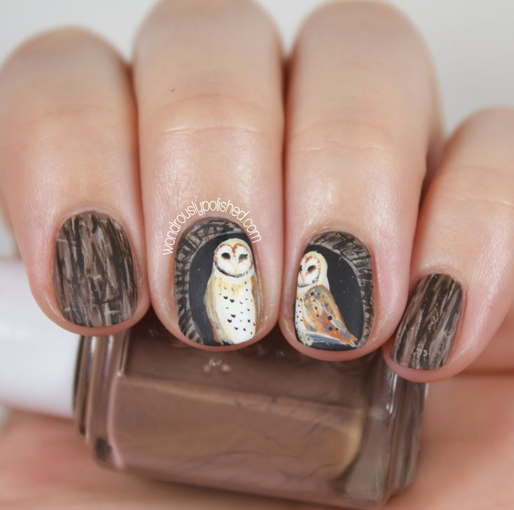 uñas de buho