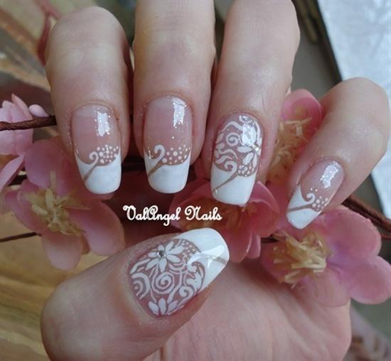 uñas decoradas para matrimonios