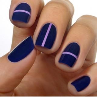 Diseños faciles para decorar uñas