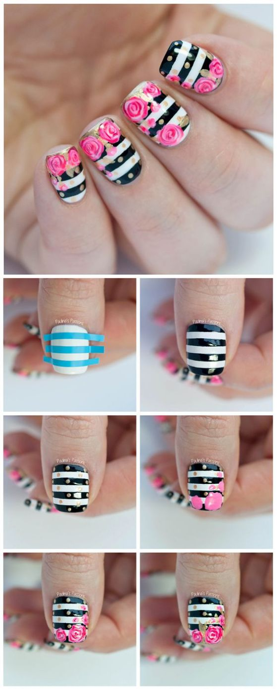 uñas faciles tutorial