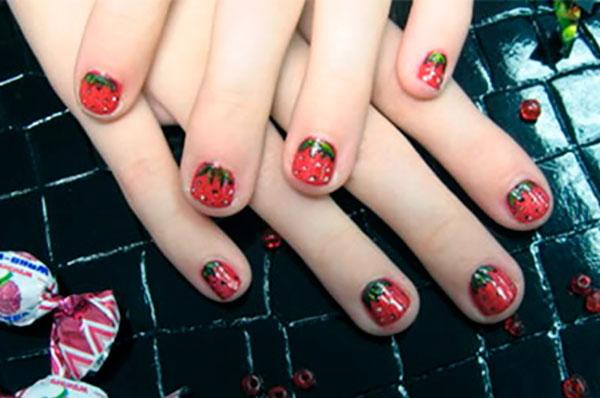 decorando uñas para niñas