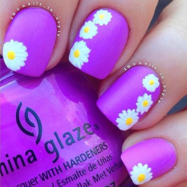 mnorado neon con flores