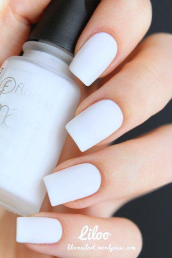tono blanco uñas