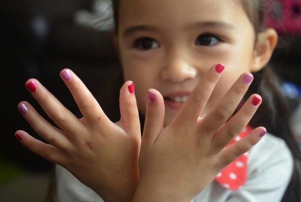 uñas decoradas para niñaas