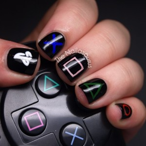 uñas playstation