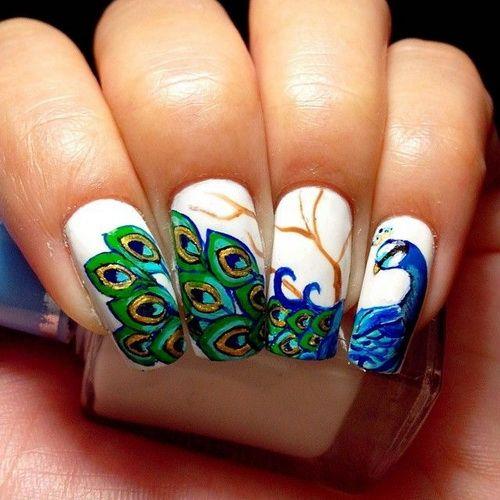 animal print en uñas