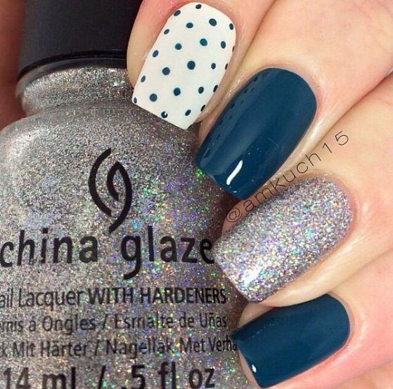 diseño de uñas largas