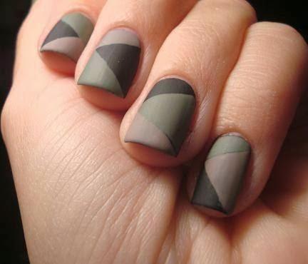 diseño opaco para uñas