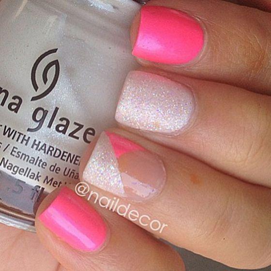 rosa y plata