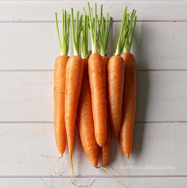 zanahoria uñas