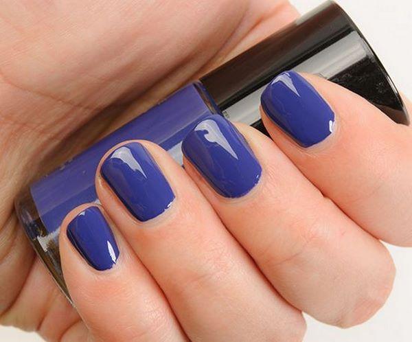 decoracion de uñas cortas un solo color