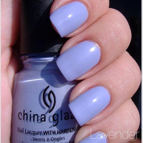 uñas de un solo color azules