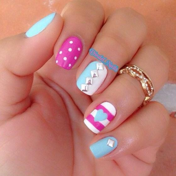 diseño de uñas naturales