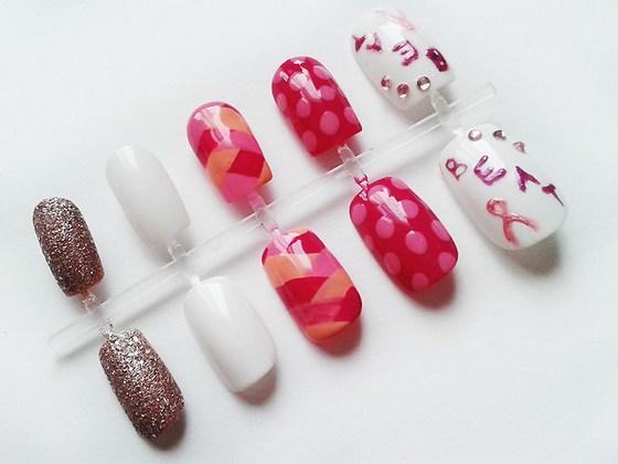 diseño de uñas postizas