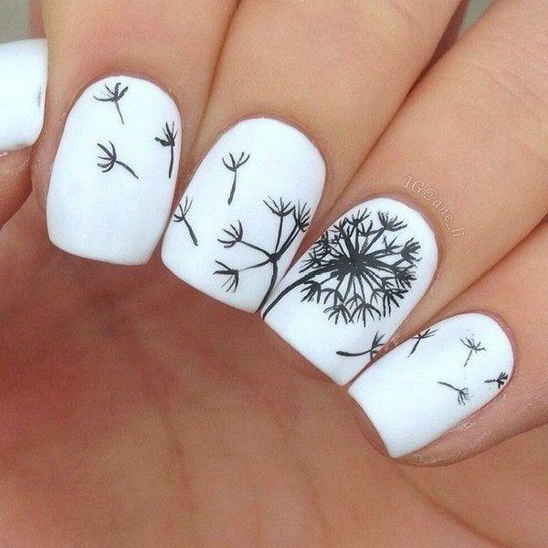 figuras para uñas hechas totalmente a mano