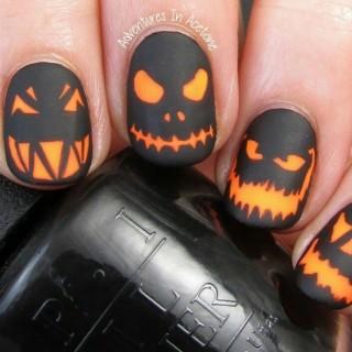 Uñas para halloween que quedan geniales para la ocasion