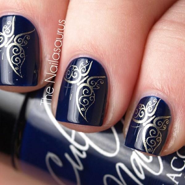 hermoso estampado para uñas