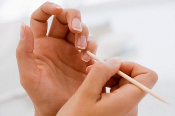 manicura para las uñas