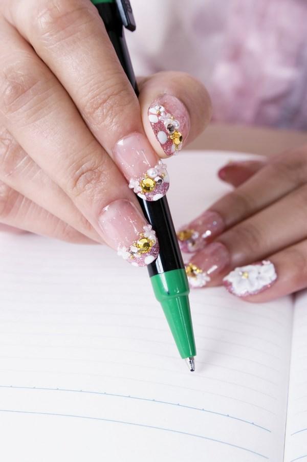 plantilla para uñas