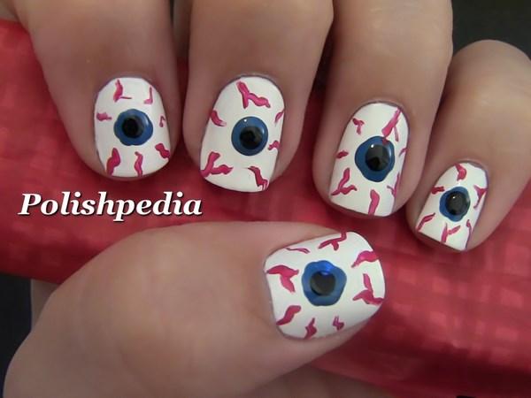 uñas de ojos