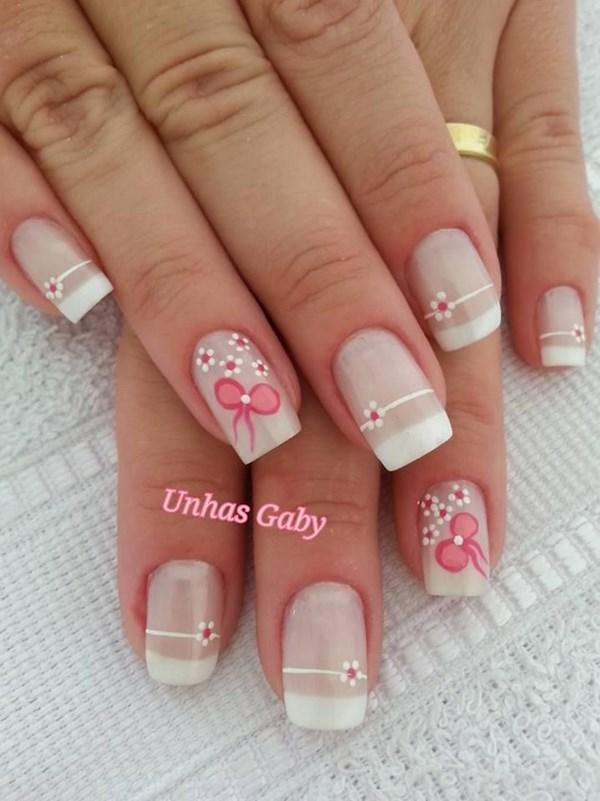 tipos de uñas francesas