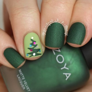 Hermosos diseños para uñas navideñas temporada 2017 – Chritsmas  Nails