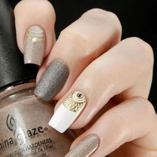 Hermosos diseños de uñas estampadas – stamped nail art