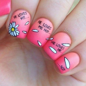 cute nail art drawing