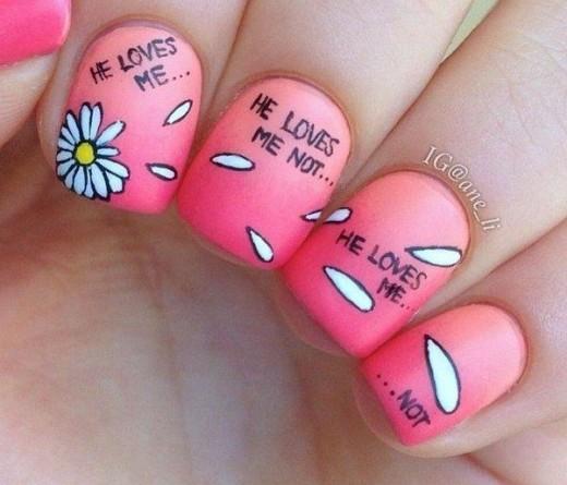 cute nail art drawing
