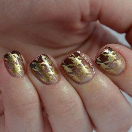patrones uñas estampadas