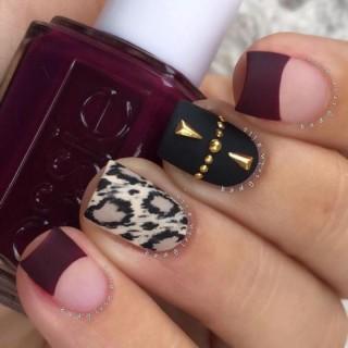 Uñas color vino, unas uñas con un estilo y color diferente