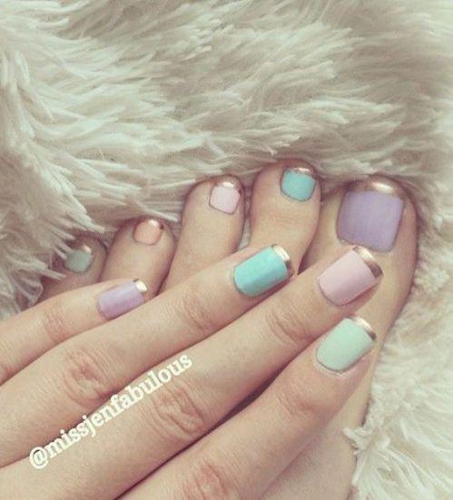 nail para los pies