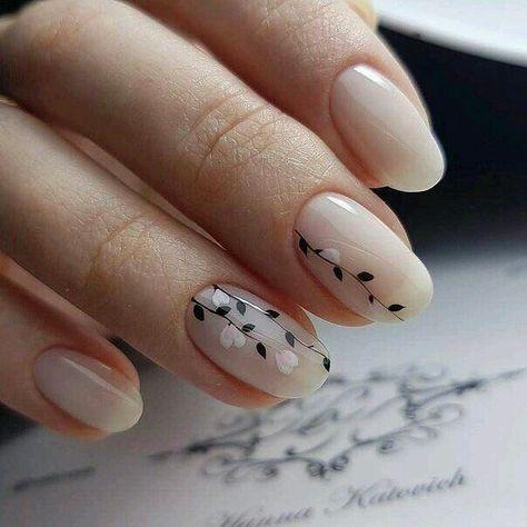 Uñas Con Flores Sencillas (3)