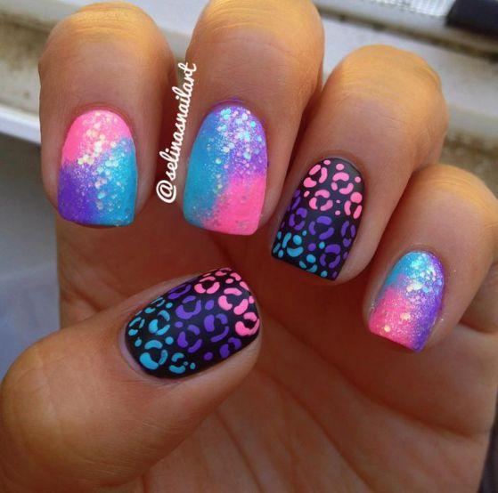 hermoso diseño de uñas