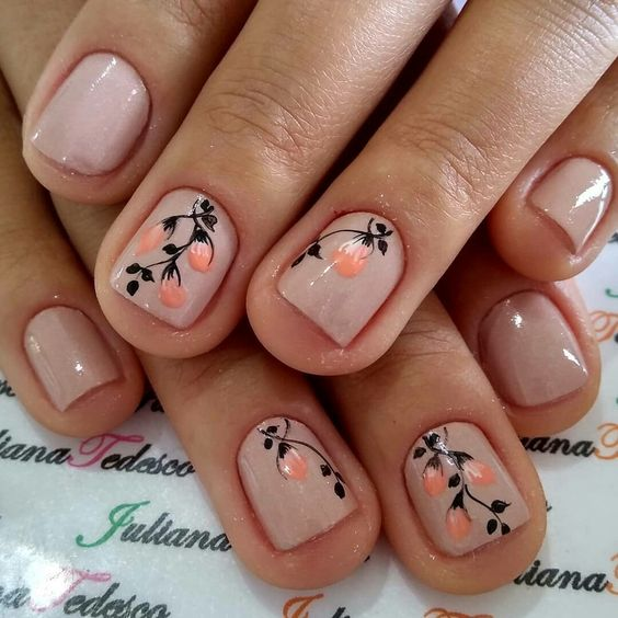 Uñas Cortas Decoradas (7)
