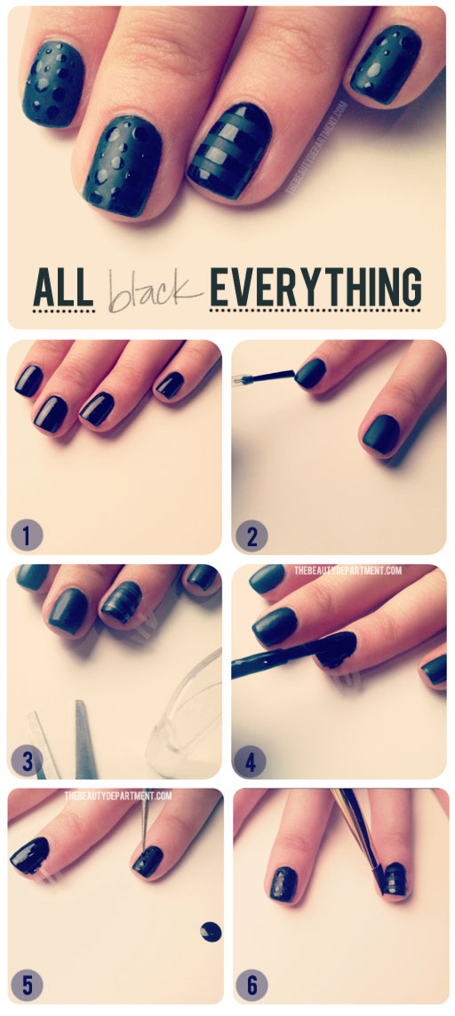 decoracion de uñas mate