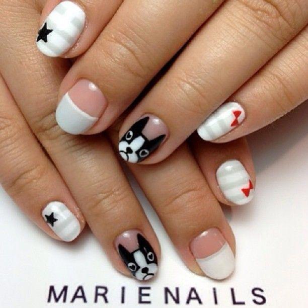 pintando uñas con perros