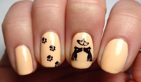 uñas curuba con perros