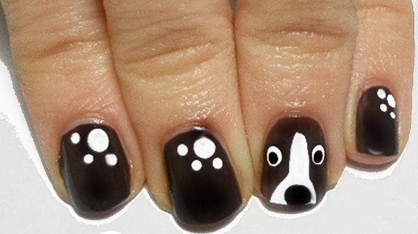 uñas de perrito