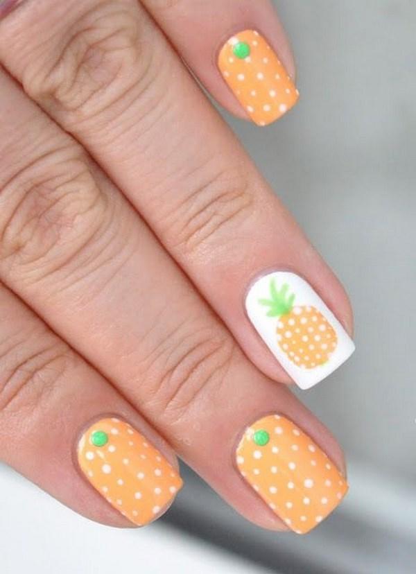 piña nails