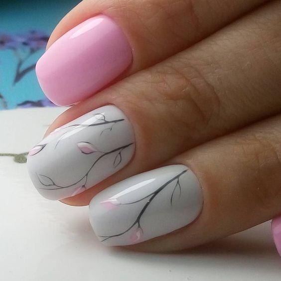 Modelos de uñas de porcelana