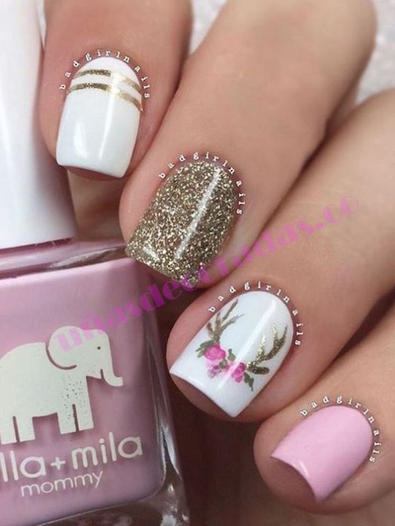 Top 5 Uñas Con Gelish Blancas