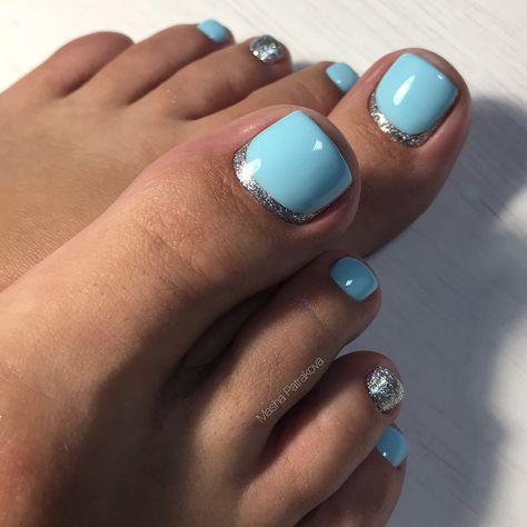 uñas decoradas para pies ★ ️ diseños ideas y tendencias